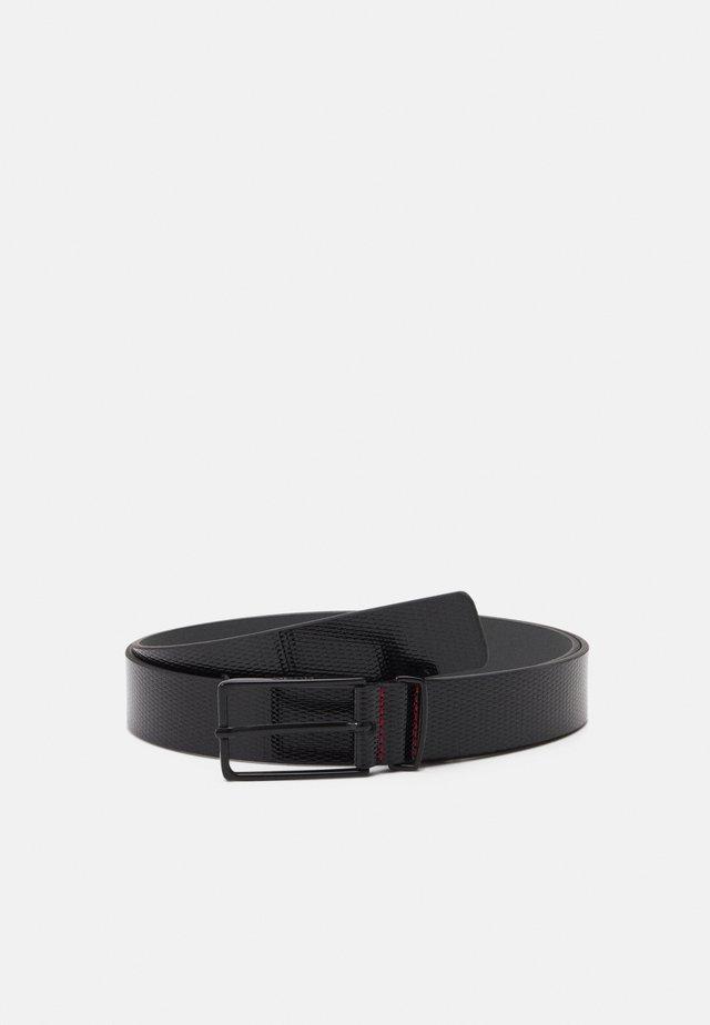 GOLIA - Formální pásek - black