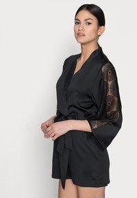 Etam - ESCALE DESHABILLE - Dressing gown - noir - 3
