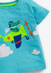 Next - T-shirt print - blue - 2
