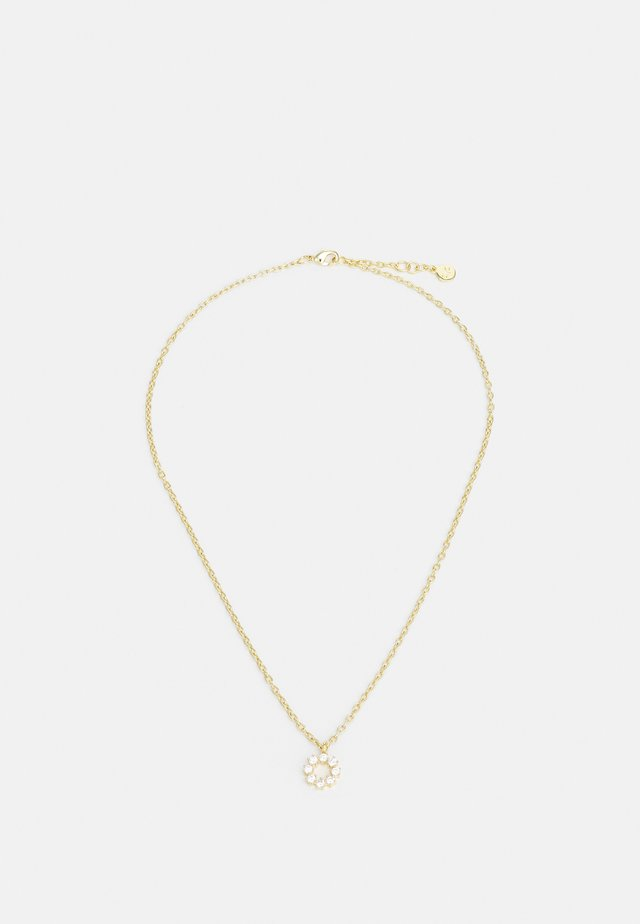 LUIRE ROUND PENDANT - Necklace - gold-coloured