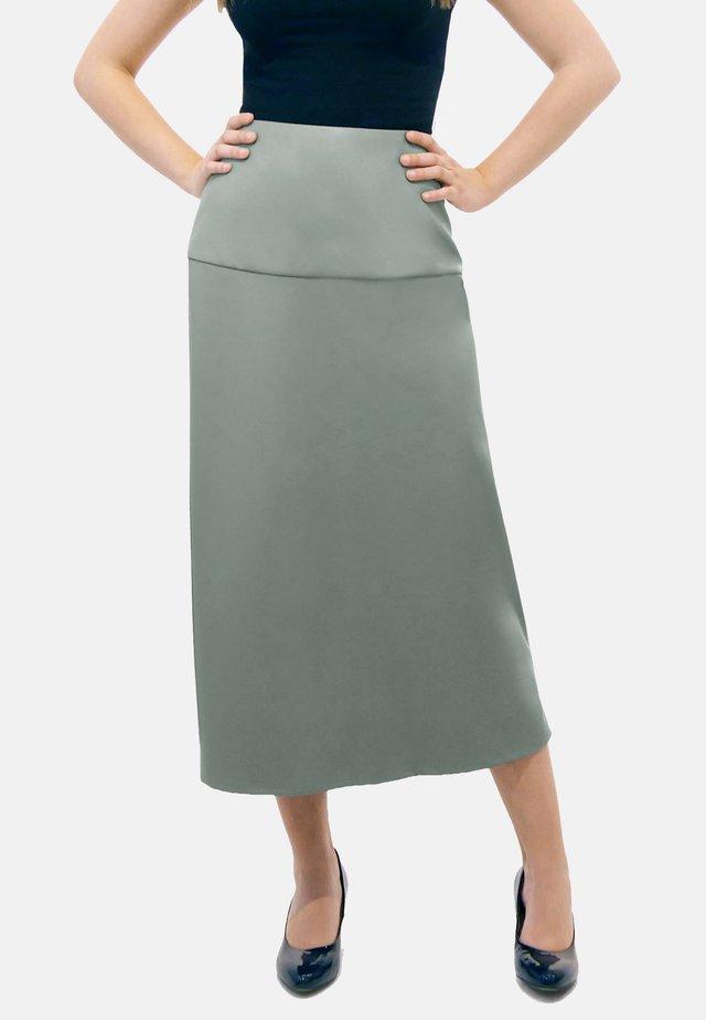 CARINE - A-line skirt - grey