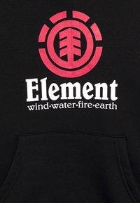 Element - VERTICAL HOOD BOY - Sweat à capuche - flint black - 2