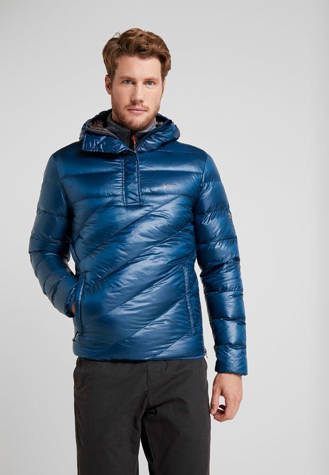 FJELLDAL HOODED ANORAK - Down jacket - arctic night