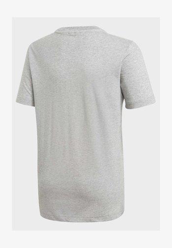 MUST HAVES  BADGE OF SPORT T-SHIRT - Print T-shirt - grey