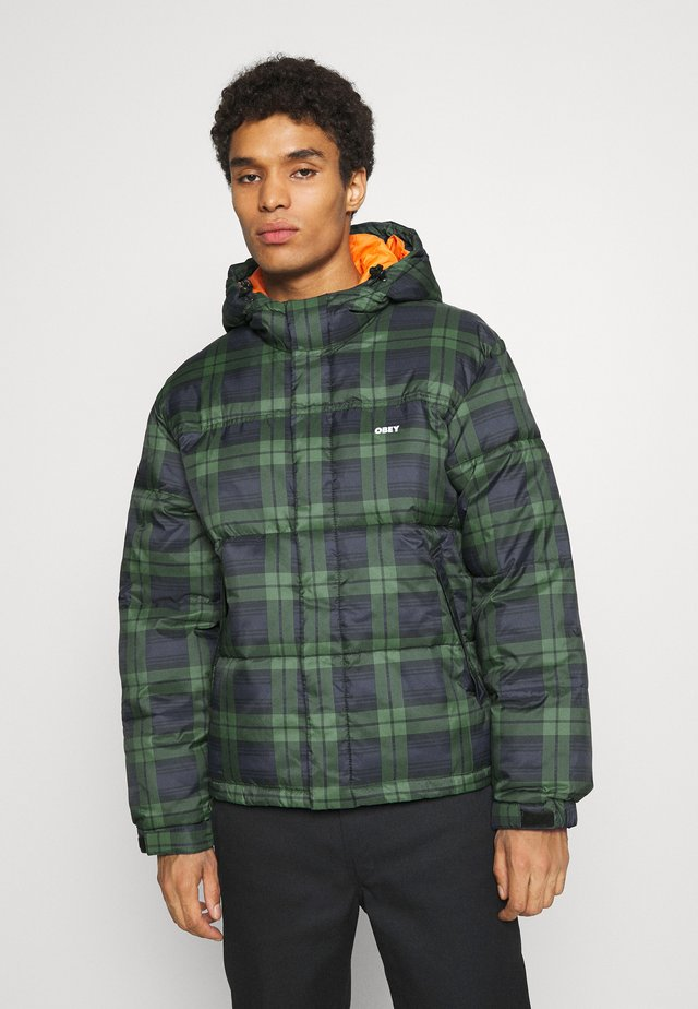 FELLOWSHIP PUFFER JACKET - Winter jacket - navy multi