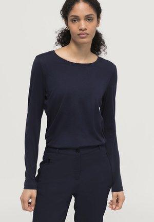 Maglietta a manica lunga - marine