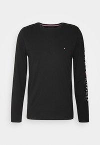 Tommy Hilfiger - LOGO LONG SLEEVE TEE - T-shirt à manches longues - black - 4