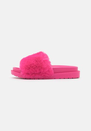 Slippers - pink  bright
