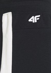 4F - Men's sweatpants - Träningsbyxor - black - 5