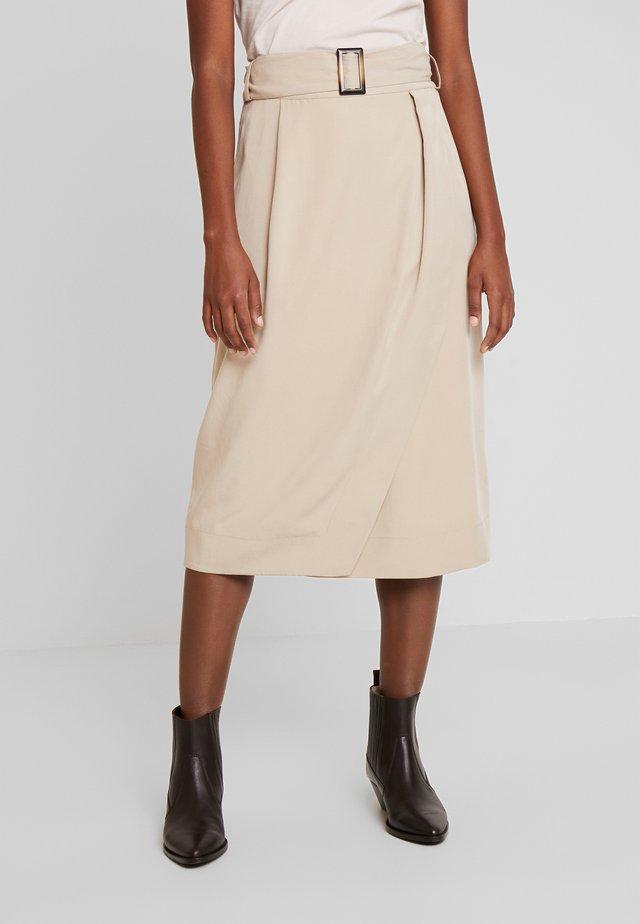 ABELIA SKIRT - Wrap skirt - sand