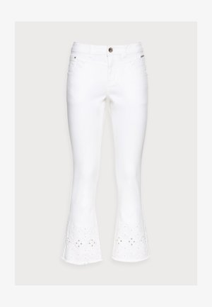 Bootcut jeans - snow white