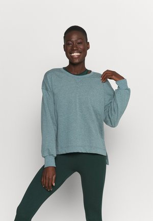CORE  - Sweatshirt - hasta/dark teal green