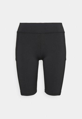 CLUB  - Korte broeken - black/white