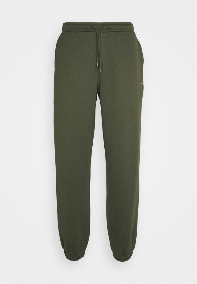 FLEASER TROUSER - Pantalon de survêtement - dark green