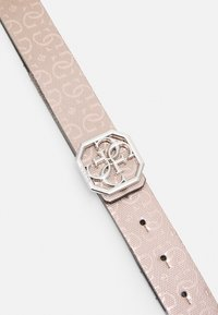 Guess - DILLA NOT PANT BELT - Belt - light pink/black - 2