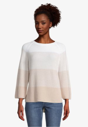 Jumper - white beige