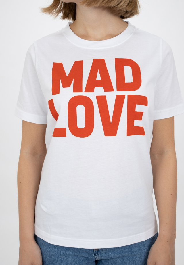 VLOGAN MESSAGE - Print T-shirt - madlove