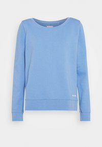 Marc O'Polo - LONG SLEEVE ROUND NECK PRINT AT BACK - Sweatshirt - northern sky - 0