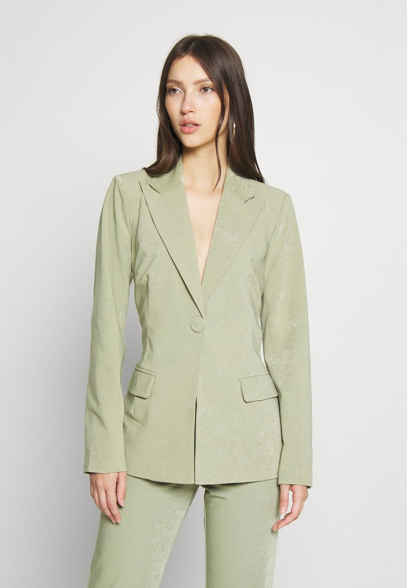 4th & Reckless - RACHIE BLAZER - Short coat - sage