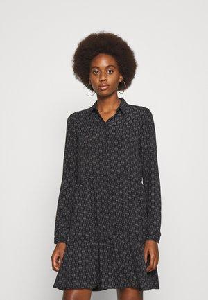 VMSAGA COLLAR PEPLUM DRESS - Day dress - blackaop kira