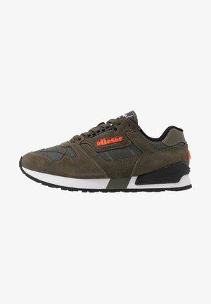 Sneaker low - dark green/black