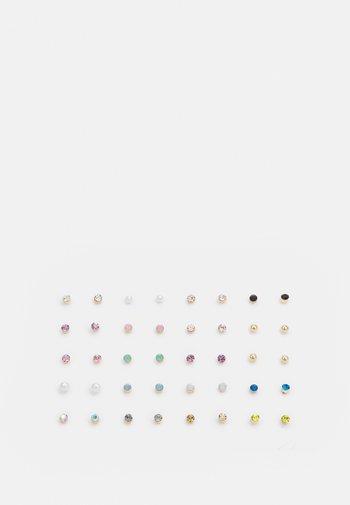 GREASWEN 20 PACK - Earrings - multi/gold-coloured