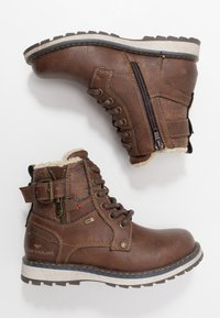 TOM TAILOR - Veterboots - rust - 0