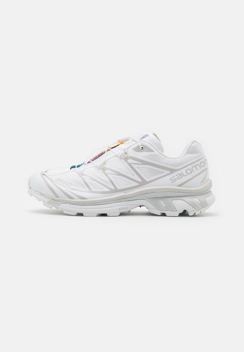 Salomon - XT 6 UNISEX - Sneakers basse - white/lunar rock