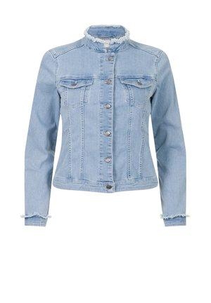APPAREL BIBESSE  - Denim jacket - light-blue denim