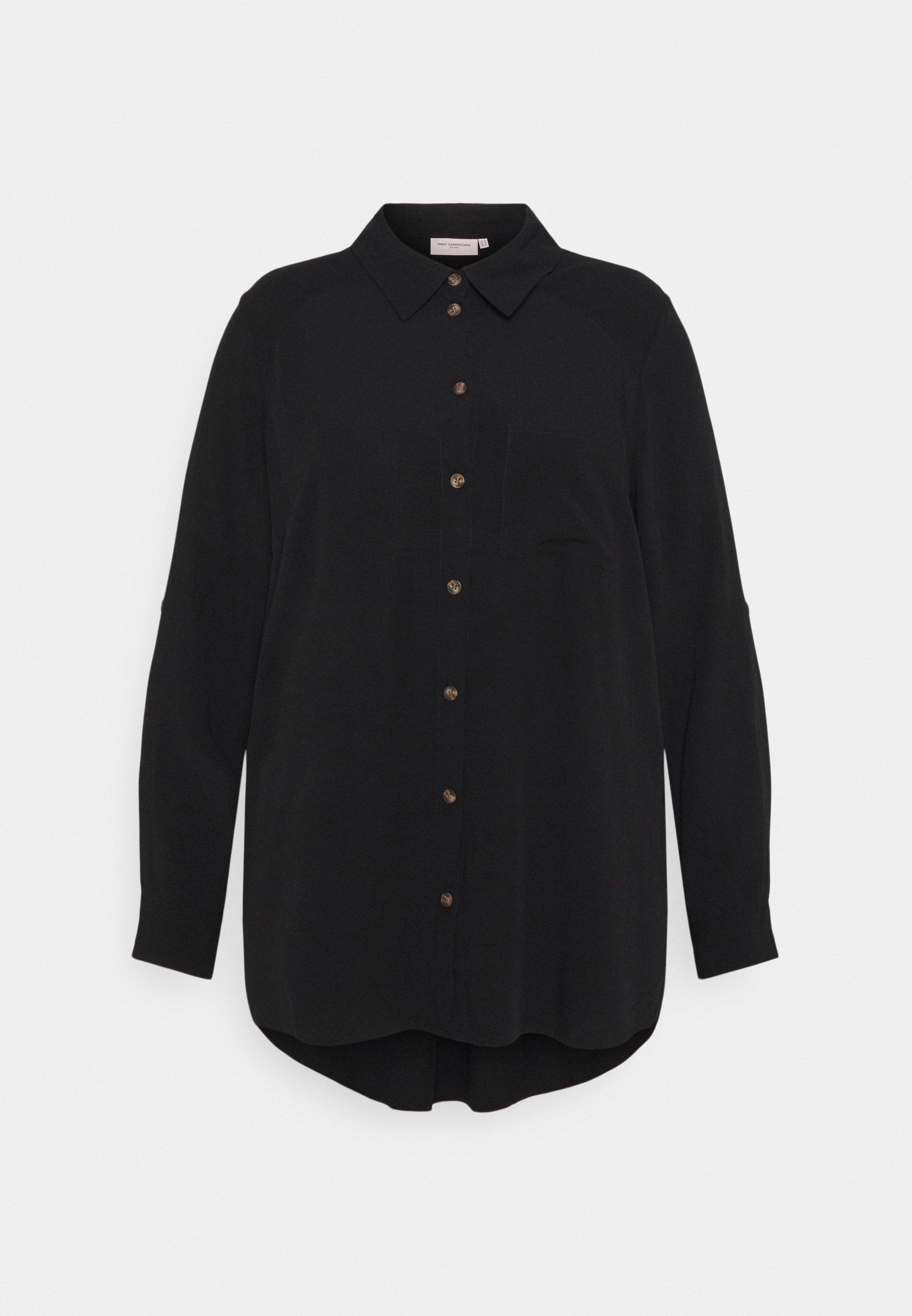 Women CARDENIZIA SOLID - Button-down blouse