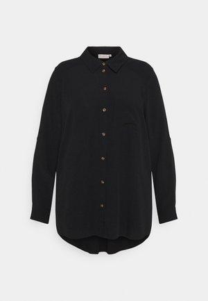 CARDENIZIA SOLID - Koszula - black