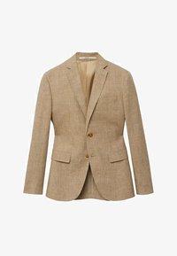 Mango - Blazer jacket - beige - 6