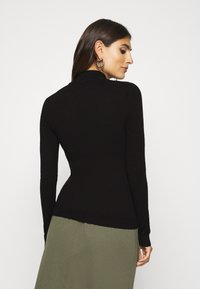 Anna Field - BASIC- Perkin neck jumper - Svetr - black - 2