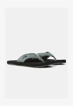 M BASE CAMP  II - T-bar sandals - agave green/tnf black