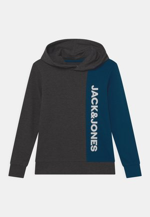 JCODAMON HOOD JR - Sweatshirt - dark grey melange