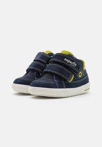 Superfit - MOPPY - Touch-strap shoes - blau/grün - 1