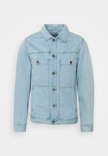 OVERTIME JACKET UNISEX - Kurtka jeansowa - stone blue
