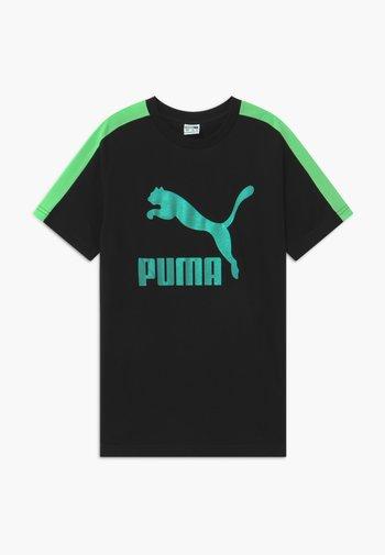 PUMA X ZALANDO TEE - Print T-shirt - black