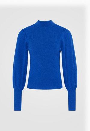 VMKARISPUFF HIGHNECK - Jumper - dazzling blue