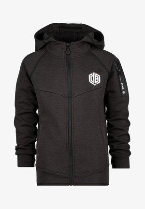 OSYMAR - Zip-up sweatshirt - anthracite