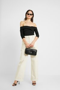 Even&Odd - BODYSUIT - Long sleeved top - black - 1