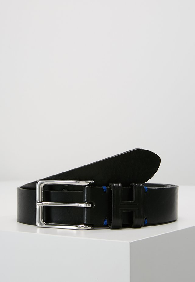 TACK STITCH KEEPER - Ceinture - black
