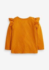 Next - DISNEY DAISY LONG SLEEVE T-SHIRT - Long sleeved top - orange - 1