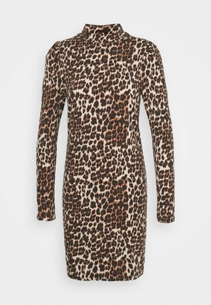 ONLMAYA LIVE LOVE HIGH PUFF DRESS - Jerseyjurk - black