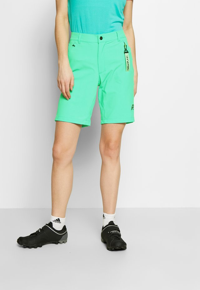 RUKKA RANTAVIIRI - Sports shorts - light green