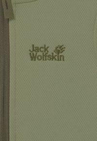 Jack Wolfskin - KIEWA UNISEX - Fleecová bunda - khaki - 2