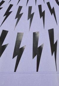 Neil Barrett - FAIR ISLE THUNDERBOLT - Mikina - lilac/black - 6