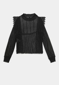 Pieces - PCGURLI - Long sleeved top - black - 1