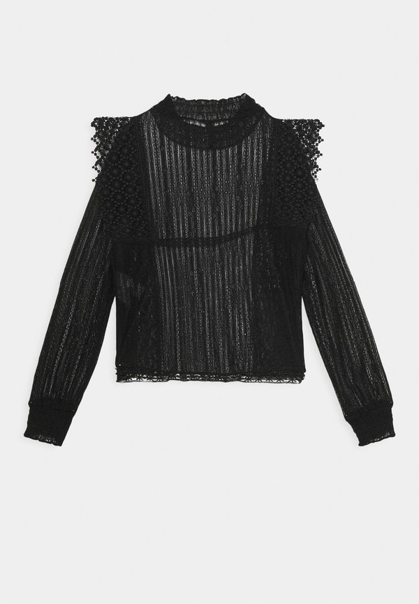 Pieces PCGURLI - Bluzka z długim rękawem - black/czarny CLEO