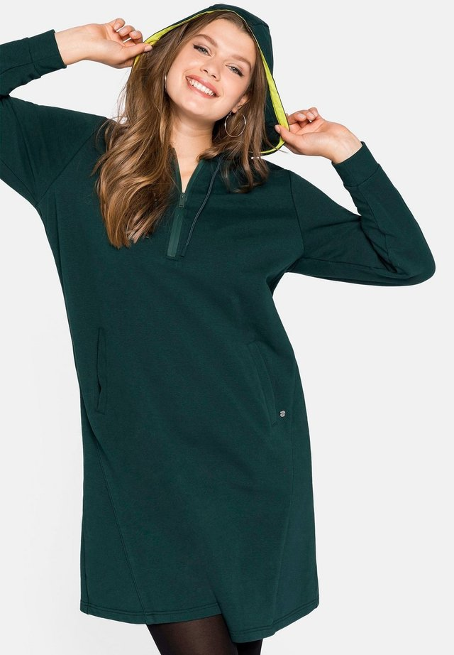 Day dress - tiefgrün
